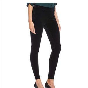 NWT Calvin Klein Black Velvet Leggings M